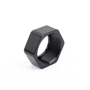 Aluminum 6061 Nut With-Black Anodizing