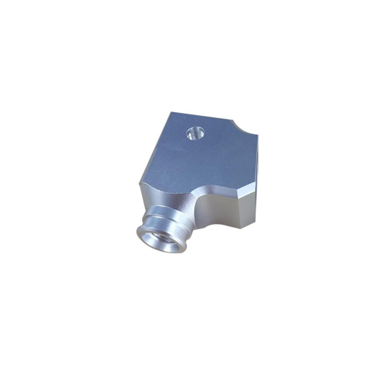 CNC machined anodized aluminum part