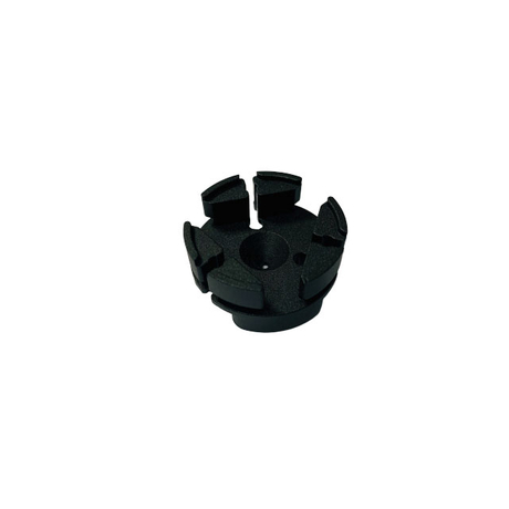 Aluminum Cap with black anode